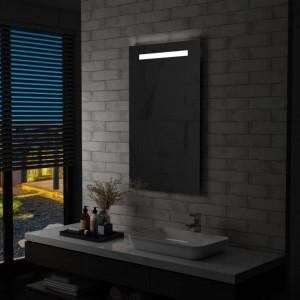 Oglinda cu LED de perete de baie, 60 x 100 cm - V144710V