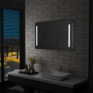 Oglinda de perete de baie cu LED, 100 x 60 cm - V144707V