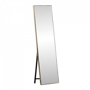 Oglindă de podea, auriu, LUSET