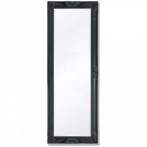 Oglinda verticala in stil baroc 140 x 50 cm negru - V243690V
