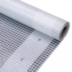 Prelata Leno 260 g/m², alb, 4 x 15 m - V45566V
