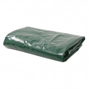 Prelata, verde, 5 x 6 m, 650 g/m² - V144899V