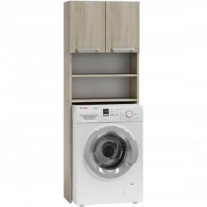 TEDUS101 - Dulap masina de spalat, Sonoma 64 x 30 x 183 cm, PAL