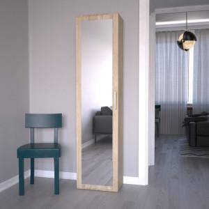 TEDUS112 - Dulap hol, sifonier 50 x 35 x 180 cm, Sonoma