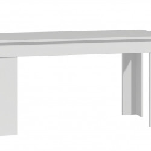 TEMAA101 - Masa fixa 160 x 80 x 75 cm - Alb-Mat