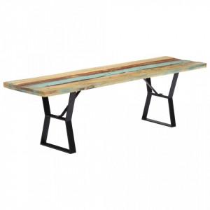 Banca, 160 cm, lemn masiv reciclat - V247954V