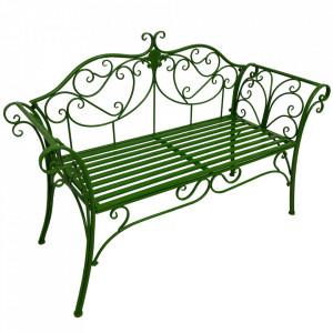 Bancă de grădină, verde, ETELIA