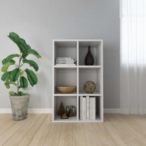 Biblioteca/Servanta, alb, 66 x 30 x 97,8 cm, PAL - V800342V