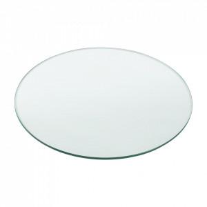 Blat sticla masa AAGB 8707, 900 x 8 mm, ESG sticla securizata, transparenta - P57827240