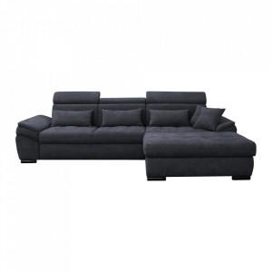 Canapea, gri, model dreapta, NATIK NEW