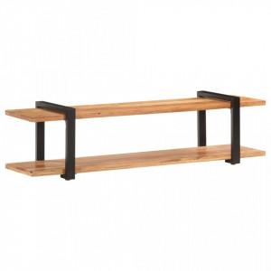 Comoda TV, 160 x 40 x 40 cm, lemn masiv de acacia - V320499V