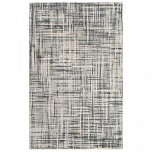 Covor cu imprimeu, bej, 160 x 230 cm, poliester - V285350V
