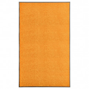 Covoras de usa lavabil, portocaliu, 90 x 150 cm - V323455V