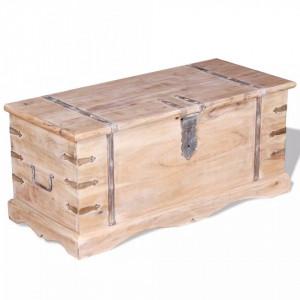 Cufar din lemn de acacia - V244053V