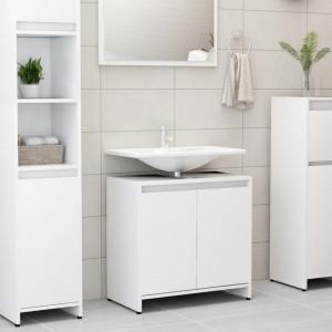 Dulap de baie, alb, 60 x 33 x 58 cm, PAL - V802642V