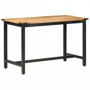 Masa de bucatarie, 120 x 60 x 76 cm, lemn masiv de mango - V287433V
