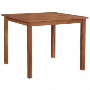 Masa de gradina, 85 x 85 x 74 cm, lemn masiv de acacia - V48606V