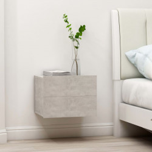 Noptiera, gri beton, 40 x 30 x 30 cm, PAL - V801061V