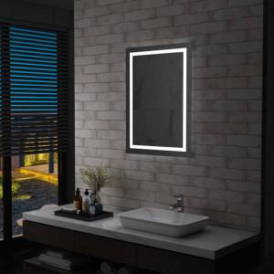 Oglinda cu LED de baie cu senzor tactil, 60 x 80 cm - V144730V
