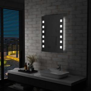 Oglinda cu LED de perete pentru baie, 60 x 80 cm - V144700V