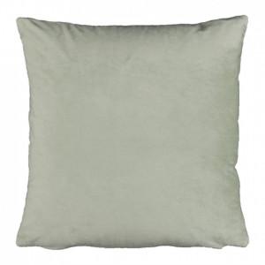 Pernă, material textil de catifea verde deschis, 60x60, OLAJA TIPUL 14