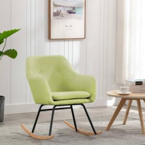 Scaun balansoar, verde, material textil - V289532V