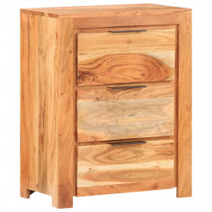 Servanta, 59x33x75 cm, lemn masiv de acacia - V320216V