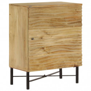 Servanta, 60x35x75 cm, lemn masiv de mango - V246974V