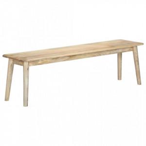 Banca, 160 cm, lemn masiv de mango - V282719V