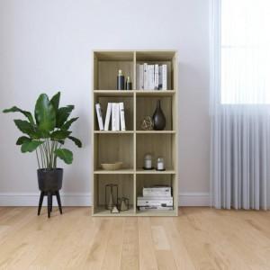 Biblioteca/Servanta, stejar Sonoma, 66 x 30 x 130 cm, PAL - V800156V