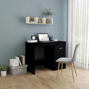 Birou, negru, 100 x 50 x 76 cm, PAL - V801797V