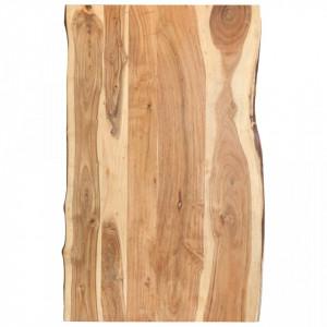 Blat de masa, 100x60x3,8 cm, lemn masiv de acacia - V286332V