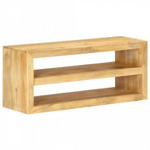 Comoda TV, 107 x 35 x 45 cm, lemn masiv de mango - V320230V