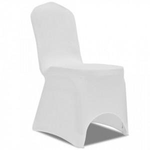 Huse elastice scaun, alb, 100 buc. - V274765V