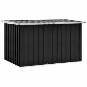 Lada de depozitare pentru gradina, antracit, 149 x 99 x 93 cm - V46267V
