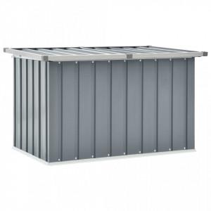 Lada de depozitare pentru gradina, gri, 109 x 67 x 65 cm - V46258V