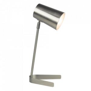 Lampă de masă, metal / nichel mat, FABEL