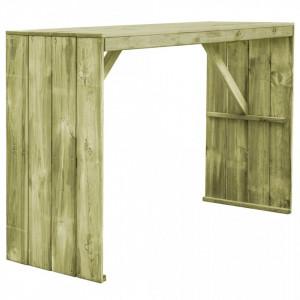 Masa de bar, 170 x 60 x 110 cm, lemn de pin tratat - V44902V