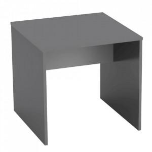 Masă de birou, grafit/alb, RIOMA NEW Typ 17