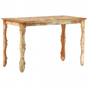 Masa de bucatarie, 120 x 60 x 76 cm, lemn masiv reciclat - V286488V