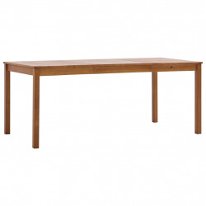 Masa de bucatarie, maro miere, 180 x 90 x 73 cm, lemn de pin - V283404V