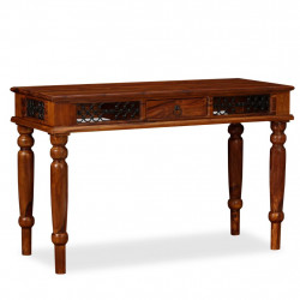 Masa de scris, lemn masiv de sheesham, 120 x 50 x 76 cm - V245156V