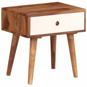 Noptiera, 45x30x45 cm, lemn masiv de sheesham - V246263V