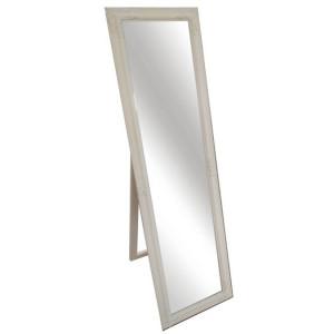 Oglindă, cadru din lemn culoarea smântânii, MALKIA TIP 12
