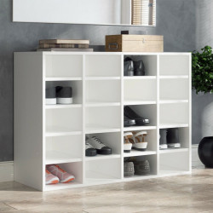 OSRA2 - Rafturi hol 91.5 cm, birou, biblioteca, living - Alb