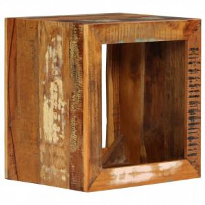 Scaun, 40x30x40 cm, lemn masiv reciclat - V246270V
