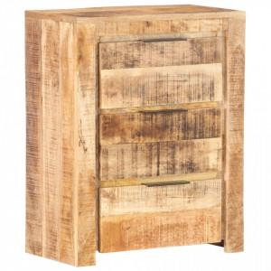 Servanta, 59 x 33 x 75 cm, lemn de mango nefinisat - V320215V
