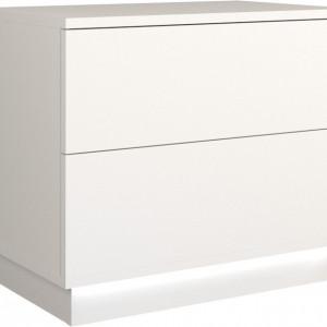 TENOA102 - Noptiera 55 x 35 x 47 cm, Alb-Mat