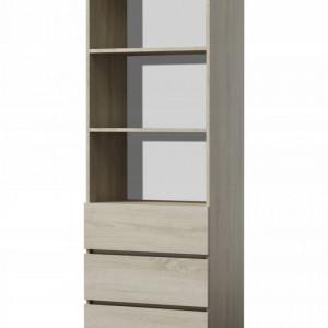 TERAS106 - Raft, biblioteca 60 x 35 x 180 cm, Sonoma