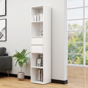 Biblioteca, alb extralucios, 36 x 30 x 171 cm, PAL - V802873V